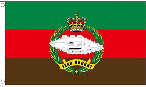 (AZ FLAG United Kingdom Royal Tank Regiment Flag 3' x 5' - British Army Flags 90 x 150 cm - Banner 3x5 ft )