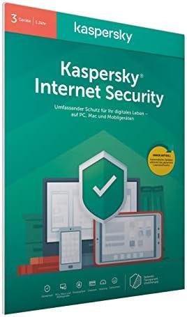 Kaspersky Internet Security 2020 Standard | 3 Geräte | 1 Jahr | Windows/Mac/Android