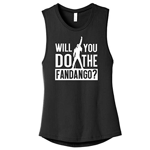 f28098f5 Will You Do The Fandango ? Ladies Premium Queen Band Muscle Tank/Tee Shirt