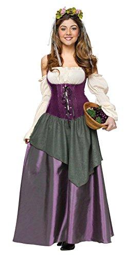 Tavern Wench Costume - Large - Dress Size 12-14 (Renaissance Wench)