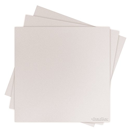 BuildTak BT12X12WT-3PK Sheet, 12'' x 12'', White by BuildTak