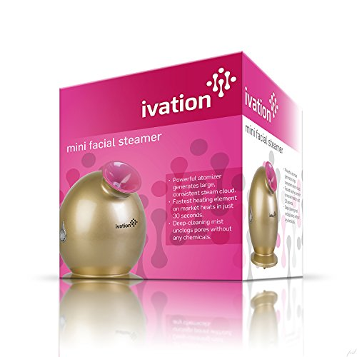 Ivation Mini Facial Steamer For Use W/Essential Oils And