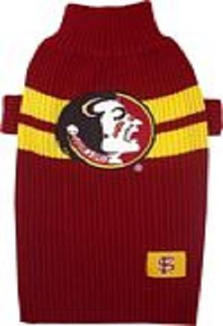 FLORIDA STATE SEMINOLES Dog Pet SWEATER ★ ALL SIZES ★ Licensed NCAA (Small)