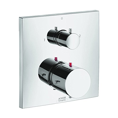 - AXOR 10726001 Starck X Thermostatic Trim with Volume Control and Diverter, Chrome