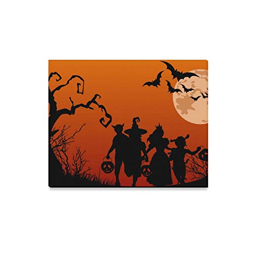 VvxXvx Wall Art Painting Painel Halloween G Frete Gratis Decoracao De Festa Prints On Canvas The Picture Landscape Pictures Oil for Home Modern Decoration Print Decor for Living Room ()