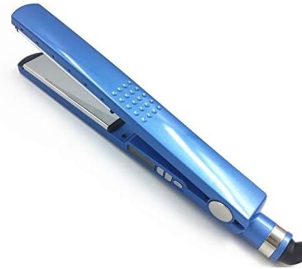Plancha de pelo profesional, plancha de peluquería rápida y cálida plancha de peluquería de hierro, control de temperatura de cinco velocidades