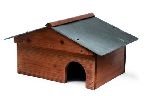 Tom Chambers WL014 World Maison pour hérisson en bois