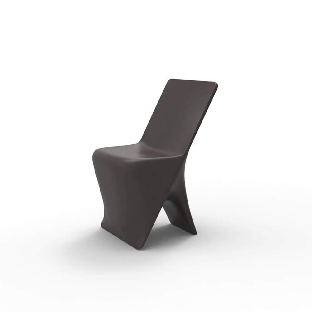 Vondom Sloo Stuhl für Außenbereich Bronze