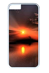 iPhone 6 Case and Cover Sunset 18 PC case Cover for iPhone 6 White