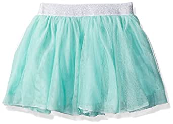 Gymboree Toddler Girls' Mint Tutu with Silver Waistband, Mint Ice Cream, 5T