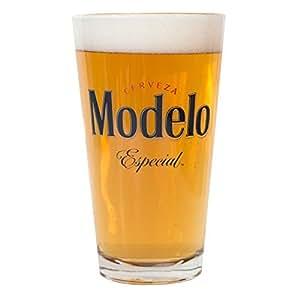 Amazon.com: Modelo Especial Pint Glass by Modelo Especial