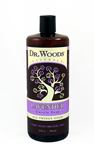 Dr Woods - Castile Liquid Soap Organic Lavender 32 Fz by Dr. - Soap Woods Lavender