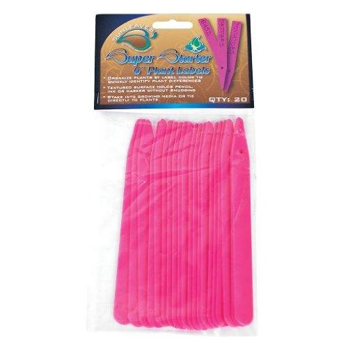 Super Starter Plant Labels Pink, 6'', 20 Pack