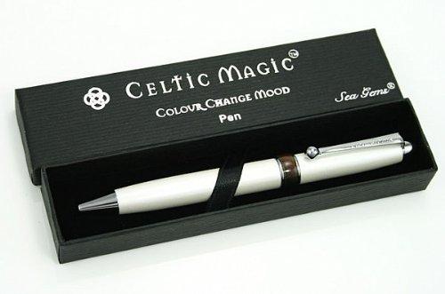 LJ Designs Celtic Magic Mood Ball Point Pen (SG53) Celtic Design Pen