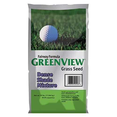 GreenView Fairway Formula Grass Seed Dense Shade Mixture, 25 lb ()