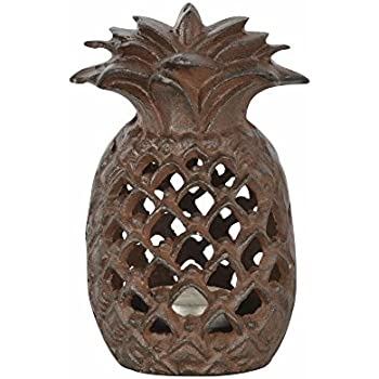 Amazon Com Fallen Fruits Cast Iron Pineapple Outdoor Tea