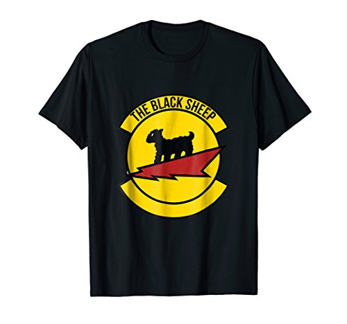 (WW2 Shirt Black Sheep Fighter Squadron World War II Tee)