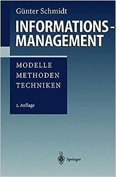 Book Informationsmanagement: 'Modelle, Methoden, Techniken'