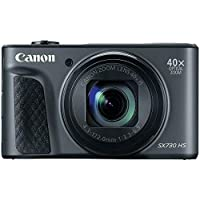 "Canon SX730 Black PowerShot Digital Camera with 3"" LCD, Black"