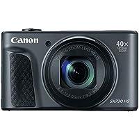 "Canon SX730 Black PowerShot Digital Camera with 3"" LCD, Black"