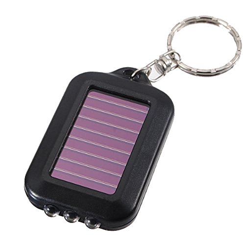 - Leegoal Mini LED Flashlight Keychain,Black