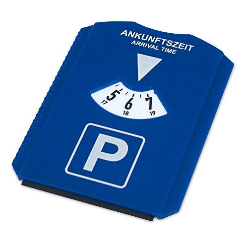 achilles, Disque de stationnement, en matière artificelle bleu et blanc