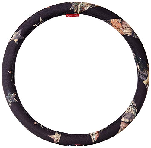 (Mossy Oak Camo Steering Wheel Cover, Country/Stripes, Truck)