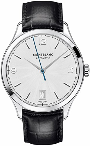 Montblanc-Heritage-Chronometrie-Automatic-Black-Alligator-Leather-Mens-Watch-112533