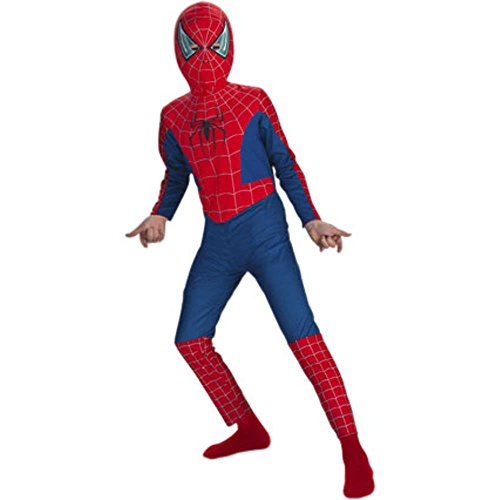 [Childs Spider-Man 2 Halloween Costume (Size: Large 7-10)] (Spiderman 2 Child Costumes)