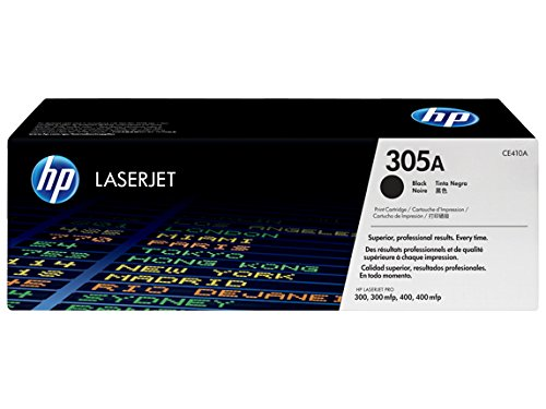 HP 305A Original LaserJet Toner Cartridge, Black