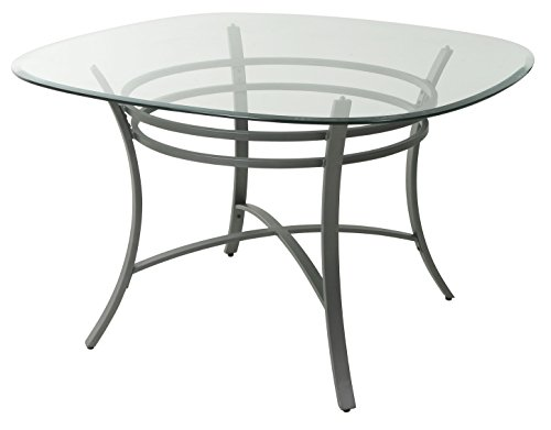 Impacterra QLCV514714812 Cevennes Dining Table, Gray