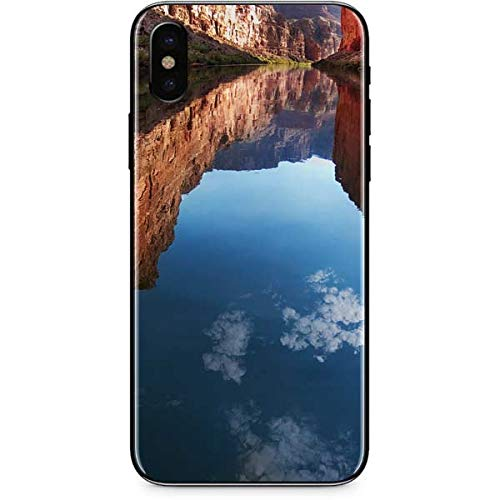 (Skinit Nature iPhone XS Max Skin - Redwall Limestone in Marble Canyon Design - Ultra Thin, Lightweight Vinyl Decal Protection)