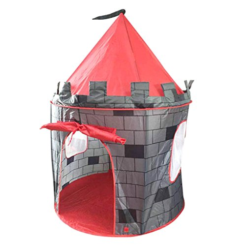 等々民族主義まだらSONONIA 子供 屋内 屋外 ポップアップ レンガ造り 城 プレイテント ハウス おもちゃ ギフト 贈り物 軽量