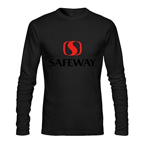 fuli-lin-mens-diy-vintage-safeway-logo-long-sleeve-t-shirt-m-black