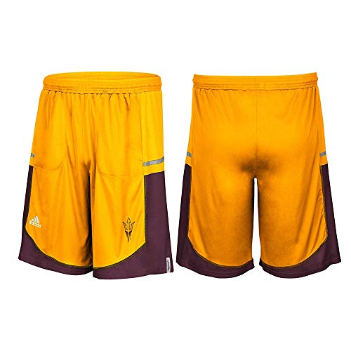 - adidas Arizona State Sun Devils NCAA Men's Gold Sideline Player Climalite Shorts