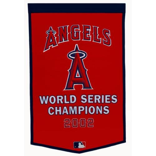 - Los Angeles Angels World Series Championship Dynasty Banner - with hanging rod