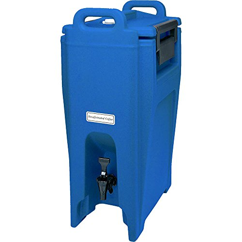 Cambro 5.25 Gal. Insulated Beverage Dispenser, Ultra Camtainer Navy Blue ()