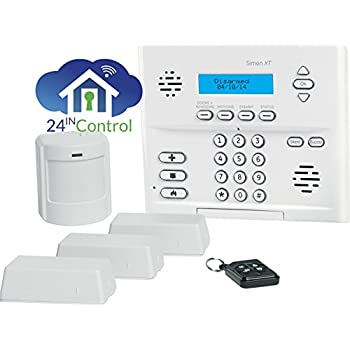 Amazon.com: interlogix Simon XT Home seguridad 3/1/1 Kit ...