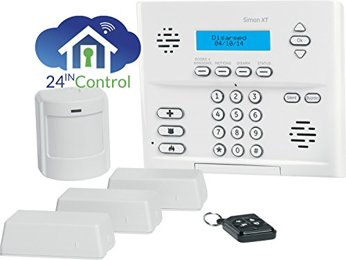 (Interlogix Simon XT Home Security 3/1/1 Kit, Crystal Wireless (80-649-3N-XT))