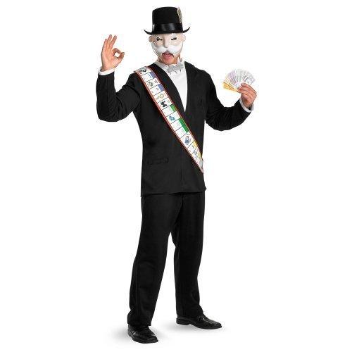 BUYSEASONS Monopoly Deluxe Adult Costume - X-Large (42-46) [Apparel] (Toy Buyseasons)