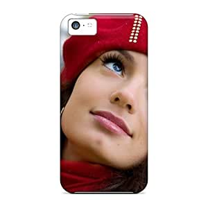 Tpu Case Cover Compatible For Iphone 5c/ Hot Case/ Sensual Make Up For
