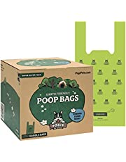 Pogi's Poop Bags - 900 Dog Poo Bags with Easy-Tie Handles - Scented, Leak-Proof, Biodegradable Poo Bags for Dogs