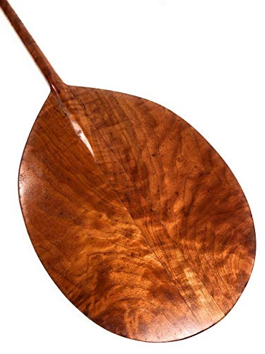 (Tikimaster Decorative Curly Koa Outrigger Canoe Paddle 60
