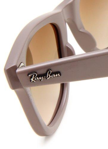 Ray-Ban WAYFARER - MATTE GREY Frame CRYSTAL BROWN GRADIENT Lenses 50mm Non-Polarized