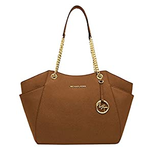 Michael Kors Women's Jet Set Travel – Large Chain Shoulder Tote