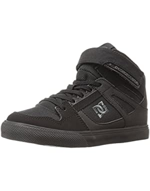 Boys' Spartan High EV Sneaker, Black/Black/Black, Little Kid