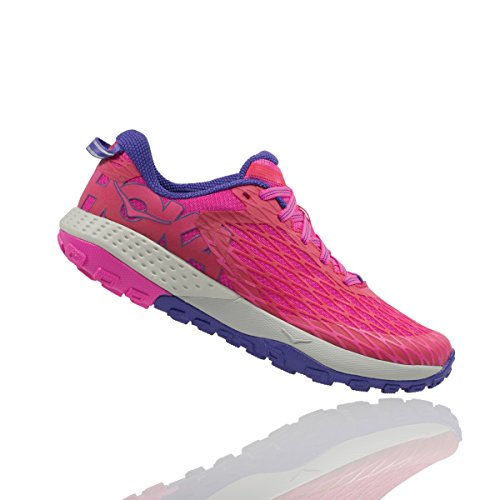 HOKA ONE ONE Speed Instinct Trail Running Sneaker Shoe – Womens (8 B(M) US, Virtual Pink) For Sale