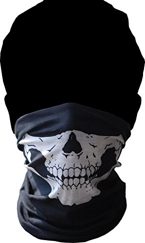 Skeleton Ghost Skull Face Mask Biker Balaclava Call of Duty COD Costume -