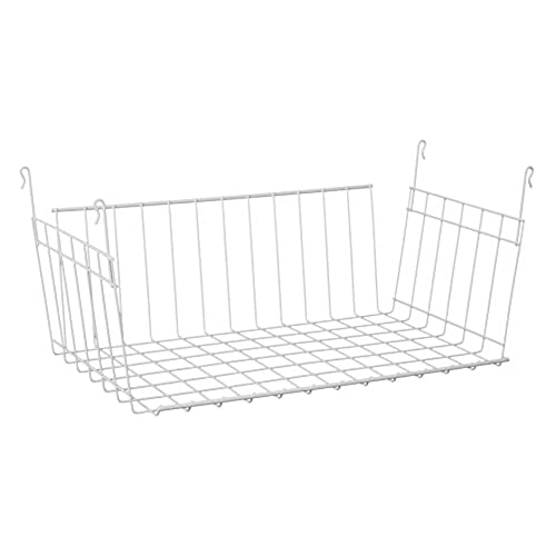 Bon ClosetMaid 6222 Hanging Basket For Wire Shelving