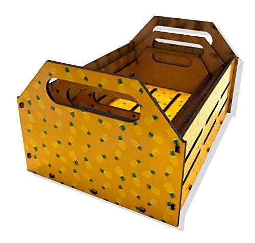 Kit Caixa Decorativa - Abacaxi